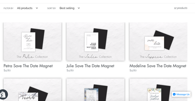 First photo - product list is cut off at the top and the right?