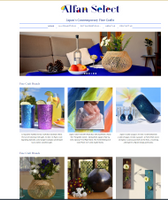 Homepage.  Slide Show loads AFTER the collections below.