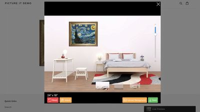 Art Preview on desktop browser