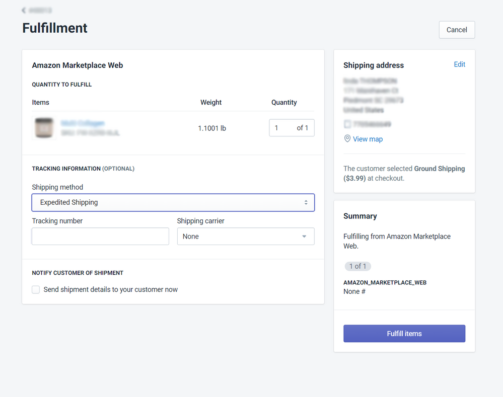 page in backend that lets me change shipping method and resubmit.png