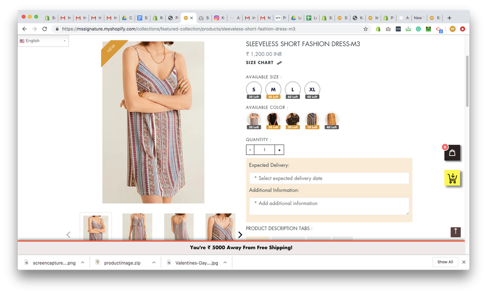 Example of Good Product page
