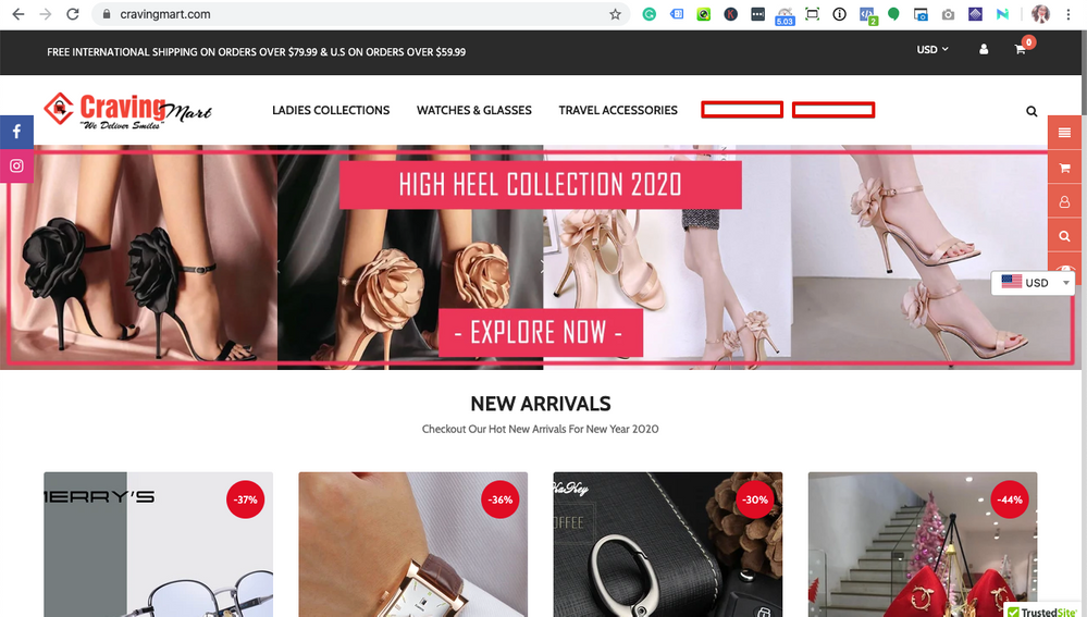 Buy High Heel Shoes | Luxury Watches|Cross Body Bags| Cravingmart.com – CravingMart 2020-02-10 09-04-50.png