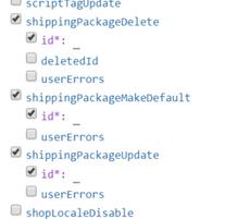 GraphQL Package Mutations