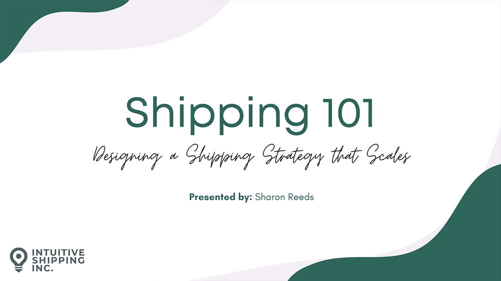 Design a Shipping Strategy that Scales
