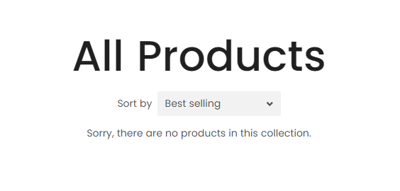 All Products Collection Page