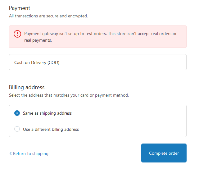i want to disable payment gateway. i came across with another shopify store where they did the same. let me share it with you.