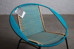 Chair with their brand tag