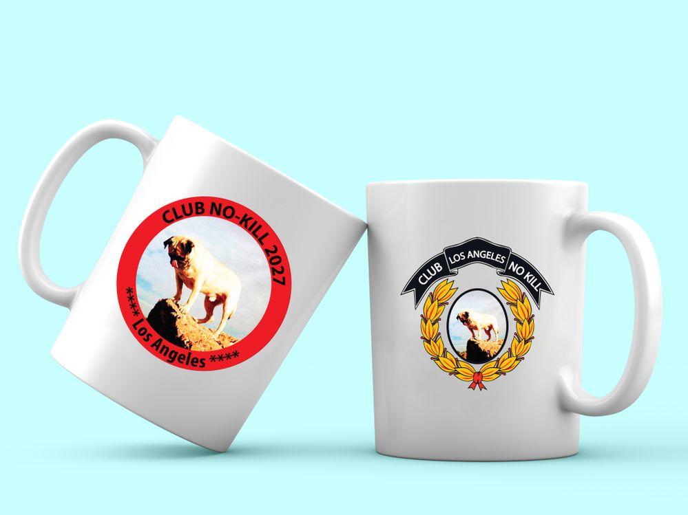 Club No-Kill Coffee Mugs
