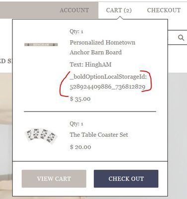 Cart Checkout Issue.JPG