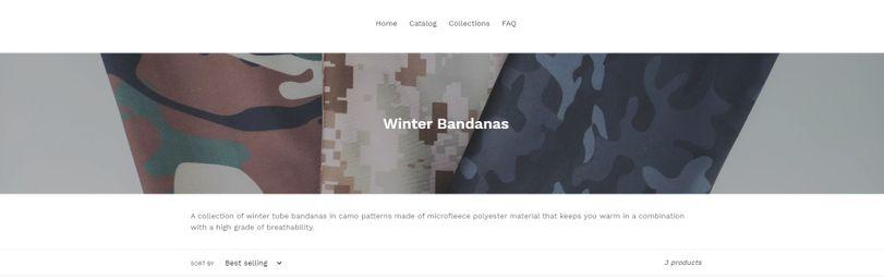 Winter Bandanas Collection (PC)