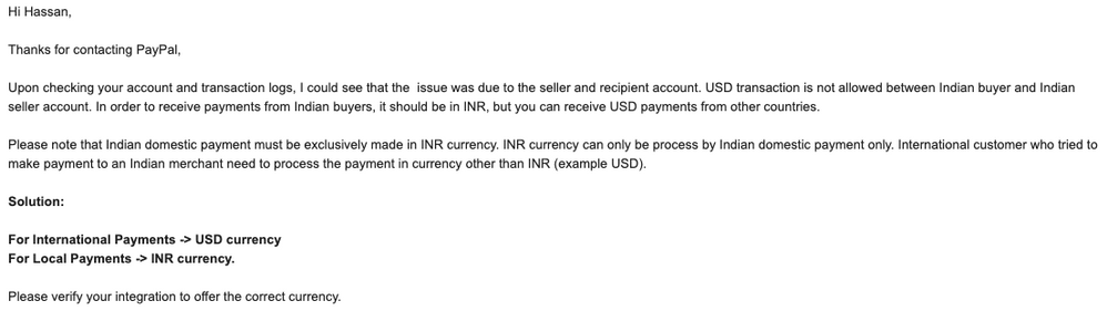Mail From MTS, PayPal