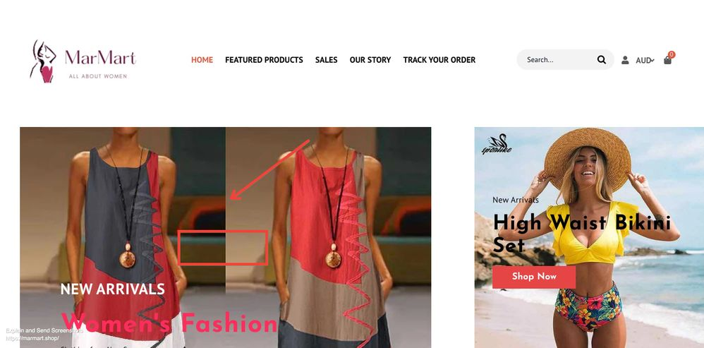 Screenshot of Marmart _ Women's Clothing for Sale – MarMart.jpg
