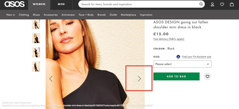 Screenshot of ASOS DESIGN going out fallen shoulder mini dress in black _ ASOS (1).jpg