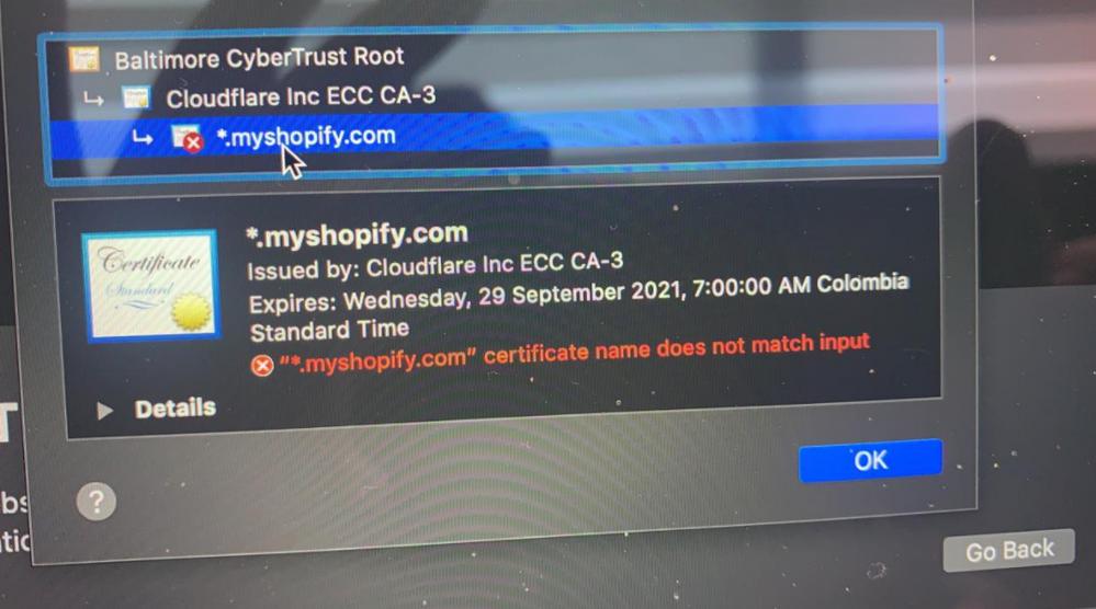 Error SSL