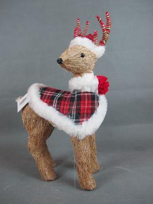 Sisal Christmas reindeer
