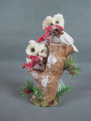 Christmas owl decoration