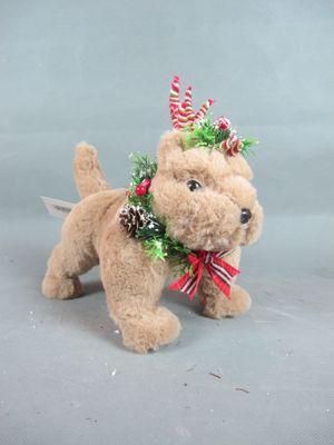 Christmas dog decoration