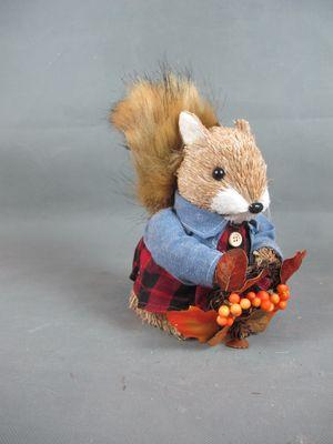 Christmas squirrel decorations