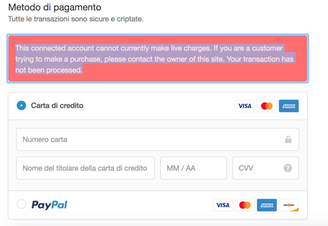 Customer Unable to pay with stripe - Shopify Community