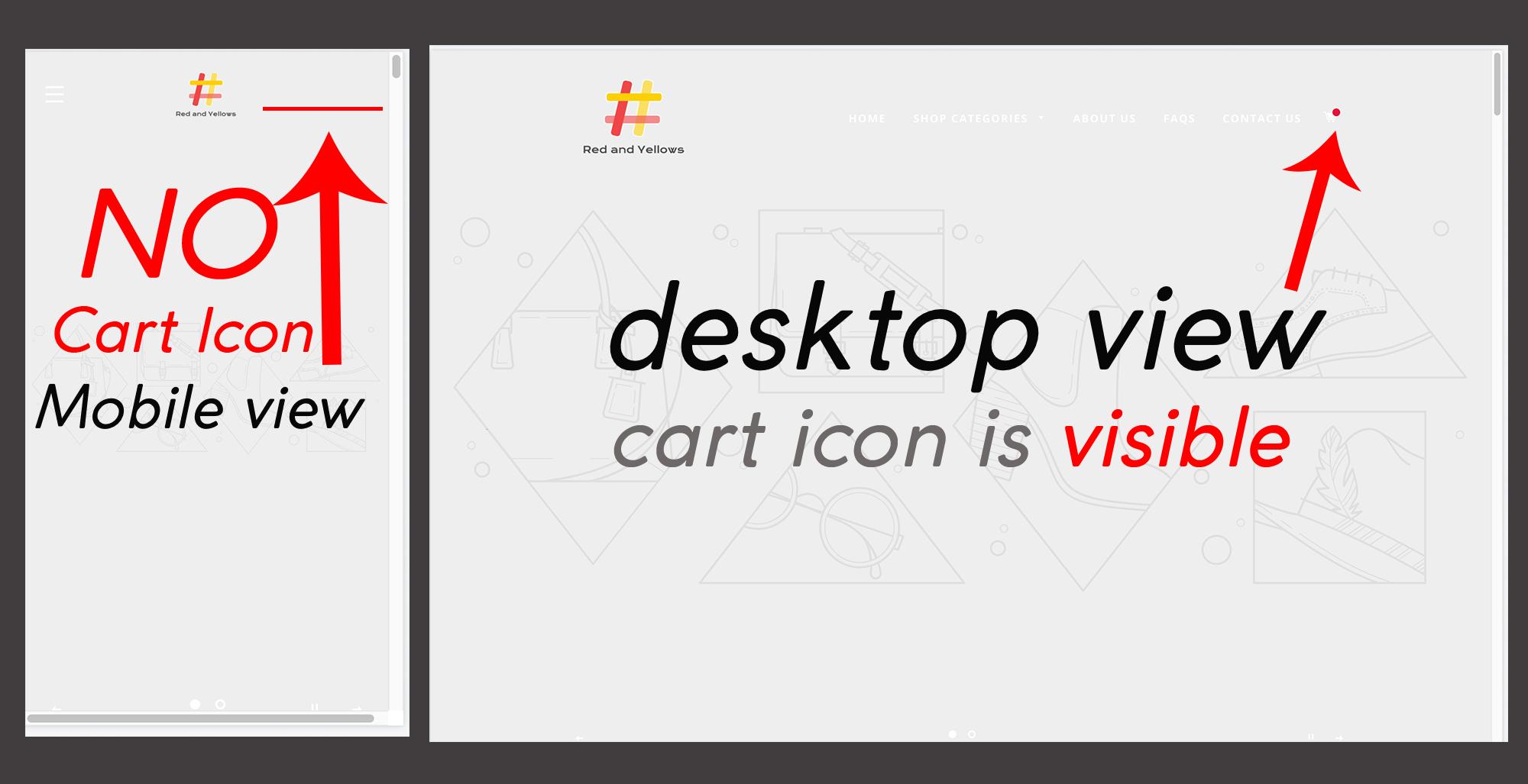 Brooklyn theme: hide homepage cart icon - Shopify Community