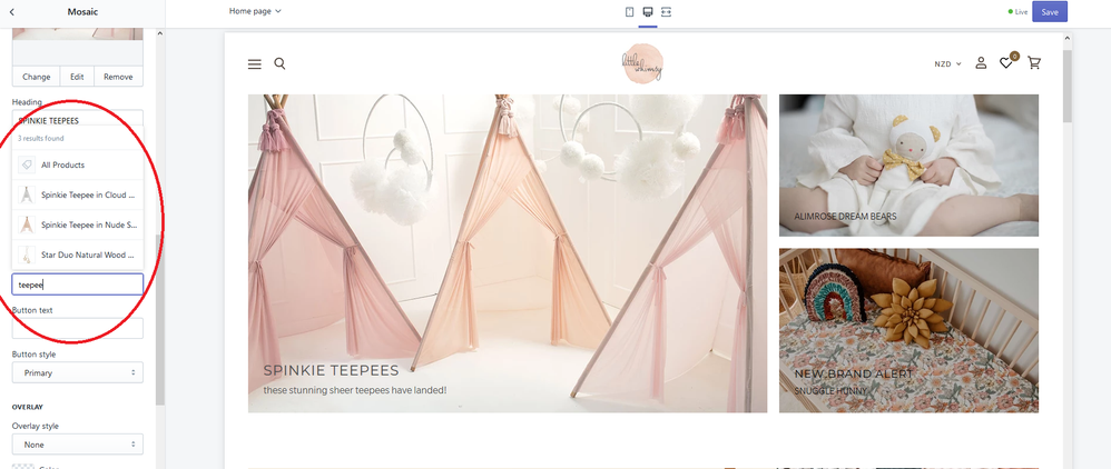 Teepee add link.png