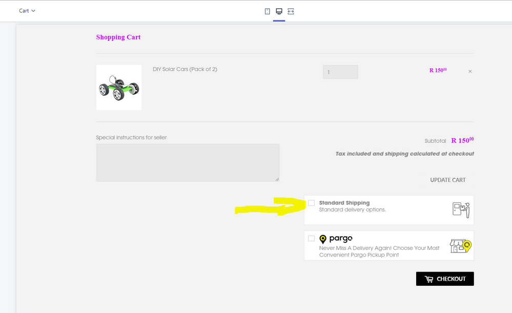 How to remove duplicate Shipping option on Cart pa