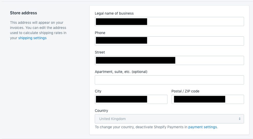 Cannot change payout currency - Shopify Community