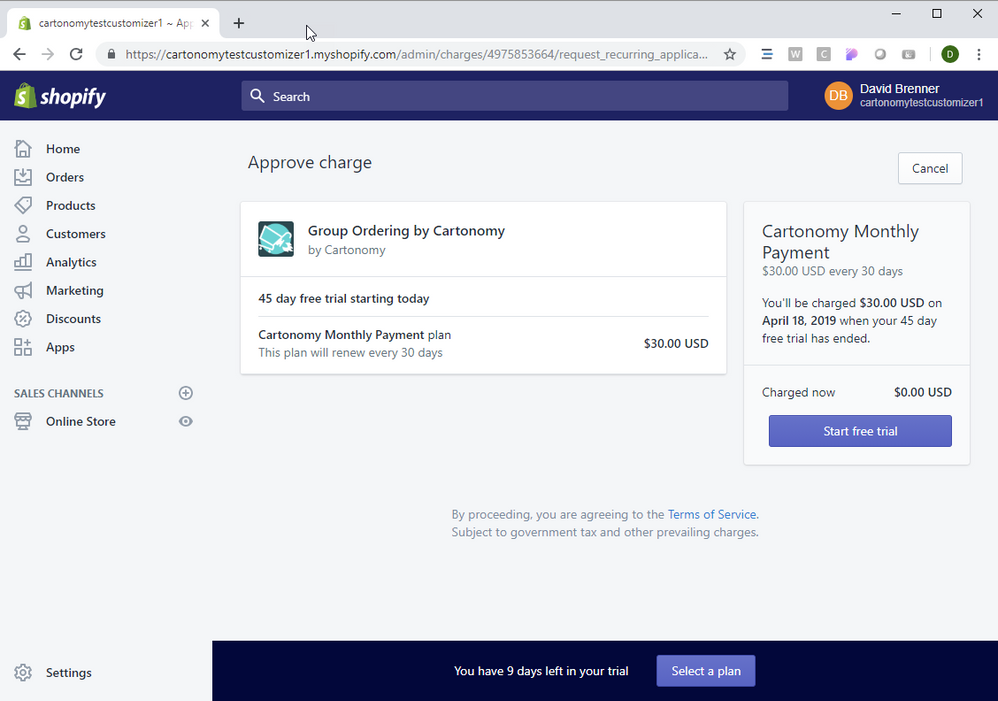 Re: Custom Billing Plan Link Does Not Work - Shopify Community