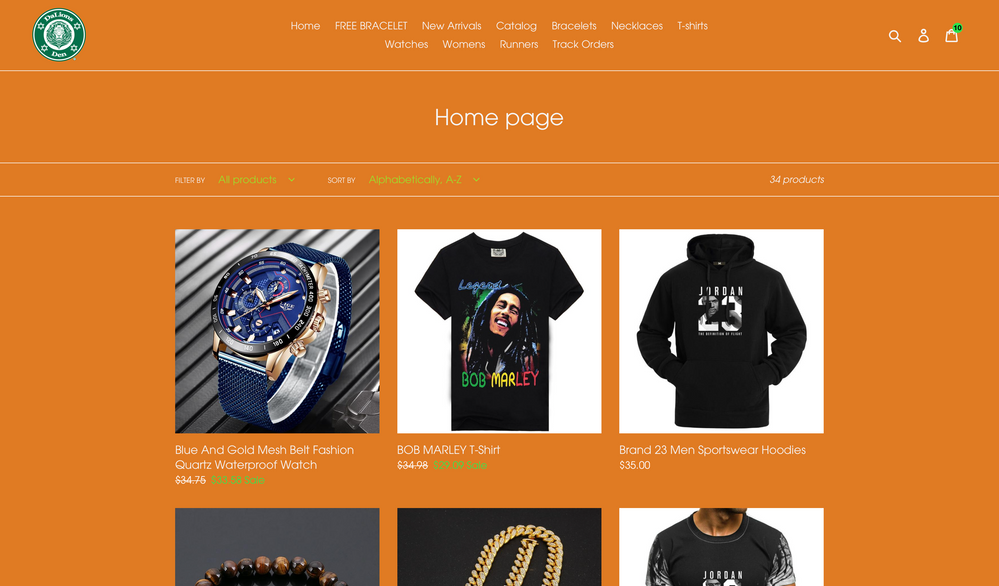 Current Product Page