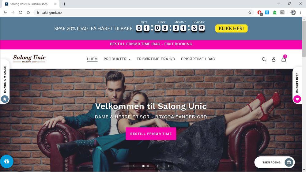 www.salongunic.no