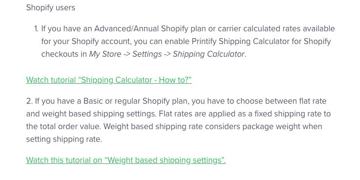 Shopify shipping question - Shopify Community