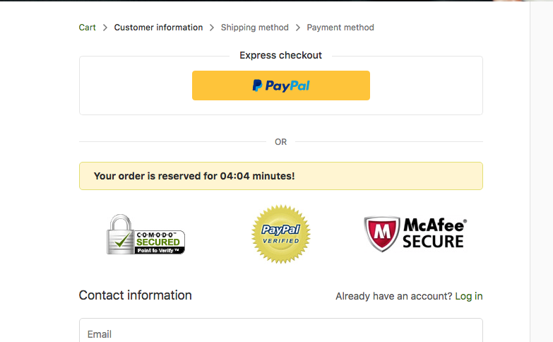 Solved: How to remove PayPal express checkout button from
