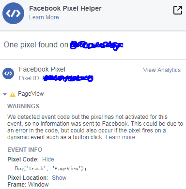 Solved: Facebook Pixel Not Working (with pictures) - Shopify Community
