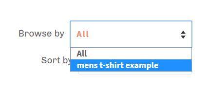 unwanted option in browse-by drop down menu.JPG