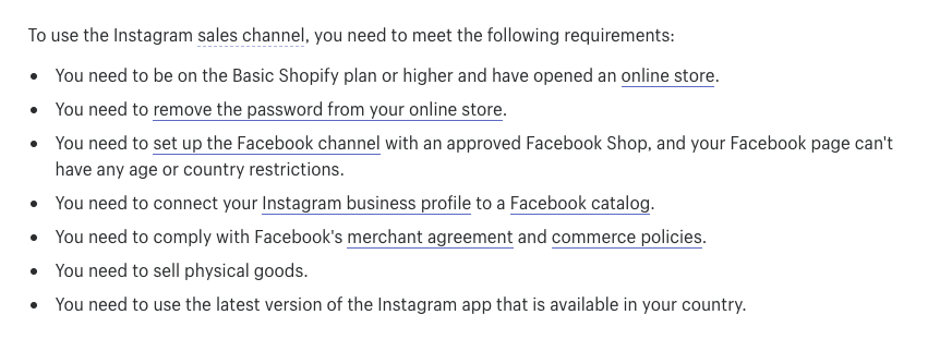 Your Account Was Not Approved For Instagram Shopp    - Shopify Community